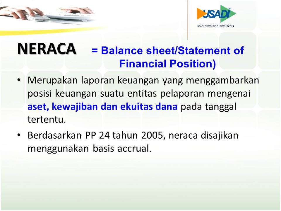= Balance sheet/Statement of Financial Position)