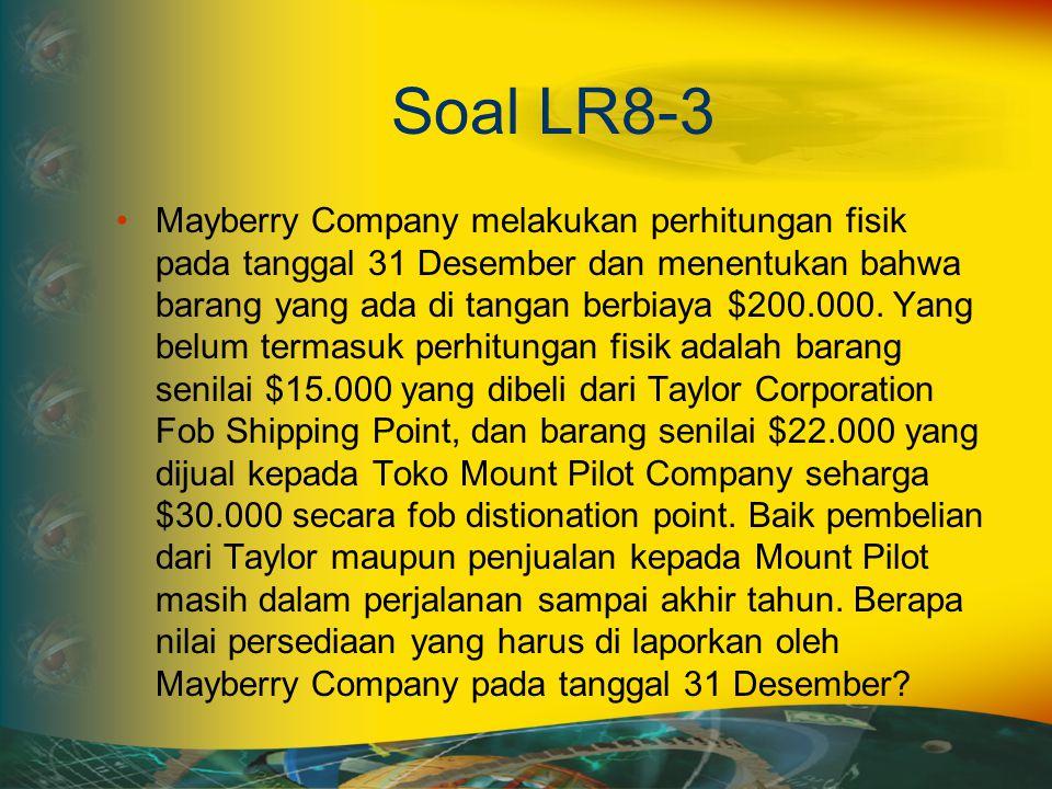 Soal LR8-3