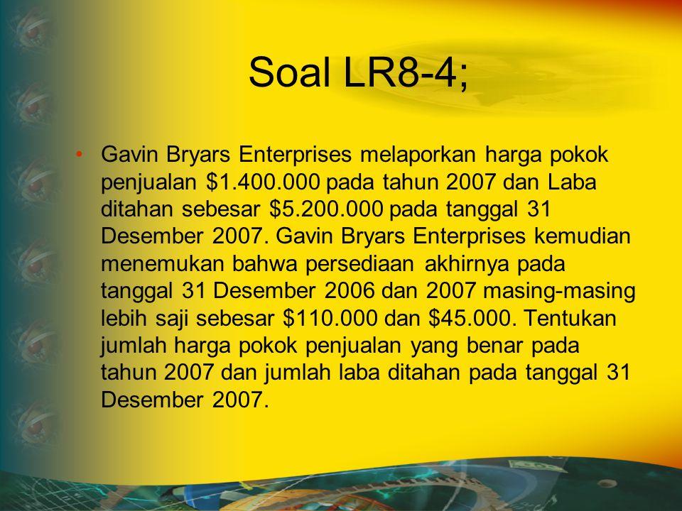 Soal LR8-4;