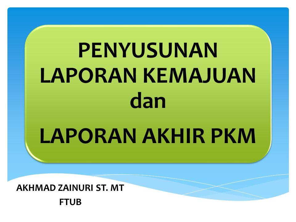 AKHMAD ZAINURI ST. MT FTUB