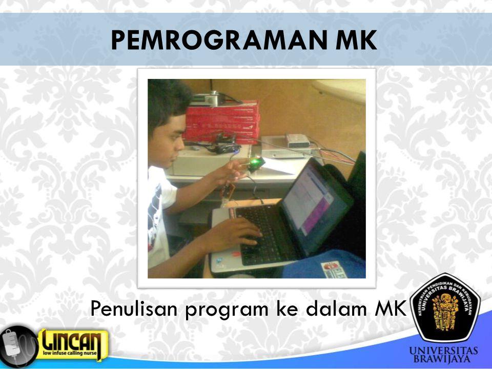 Penulisan program ke dalam MK