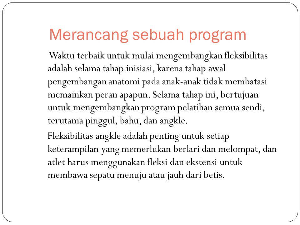 Merancang sebuah program
