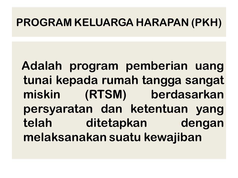 PROGRAM KELUARGA HARAPAN (PKH)