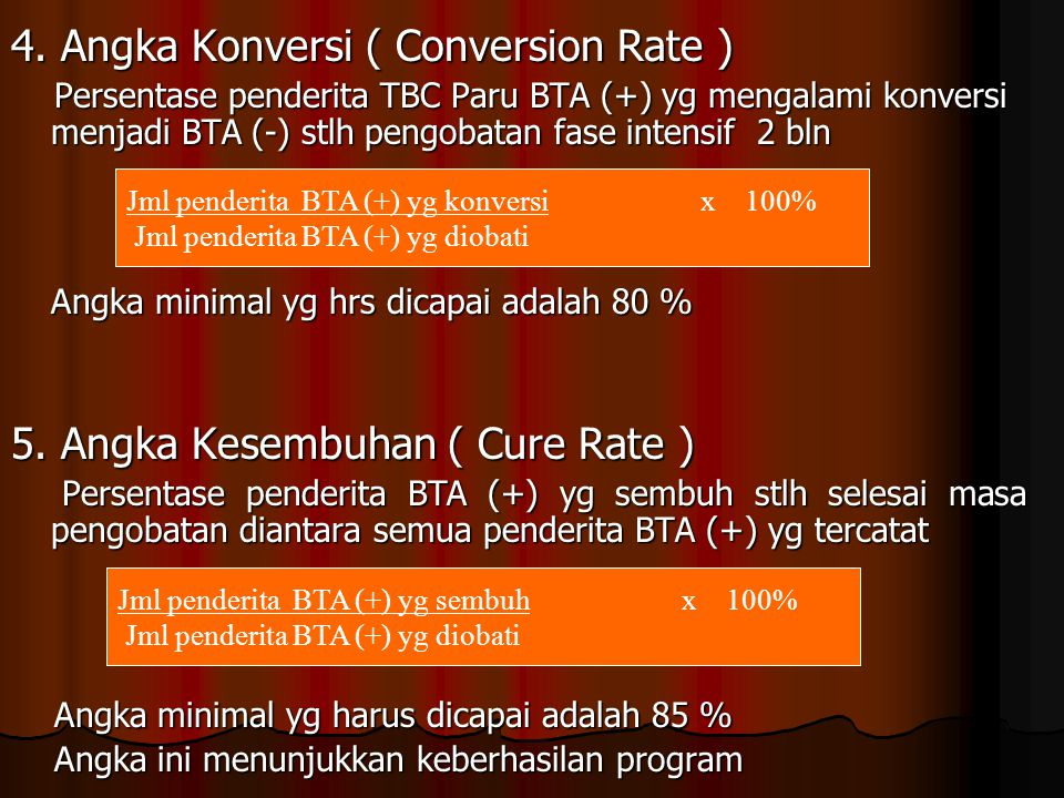 4. Angka Konversi ( Conversion Rate )