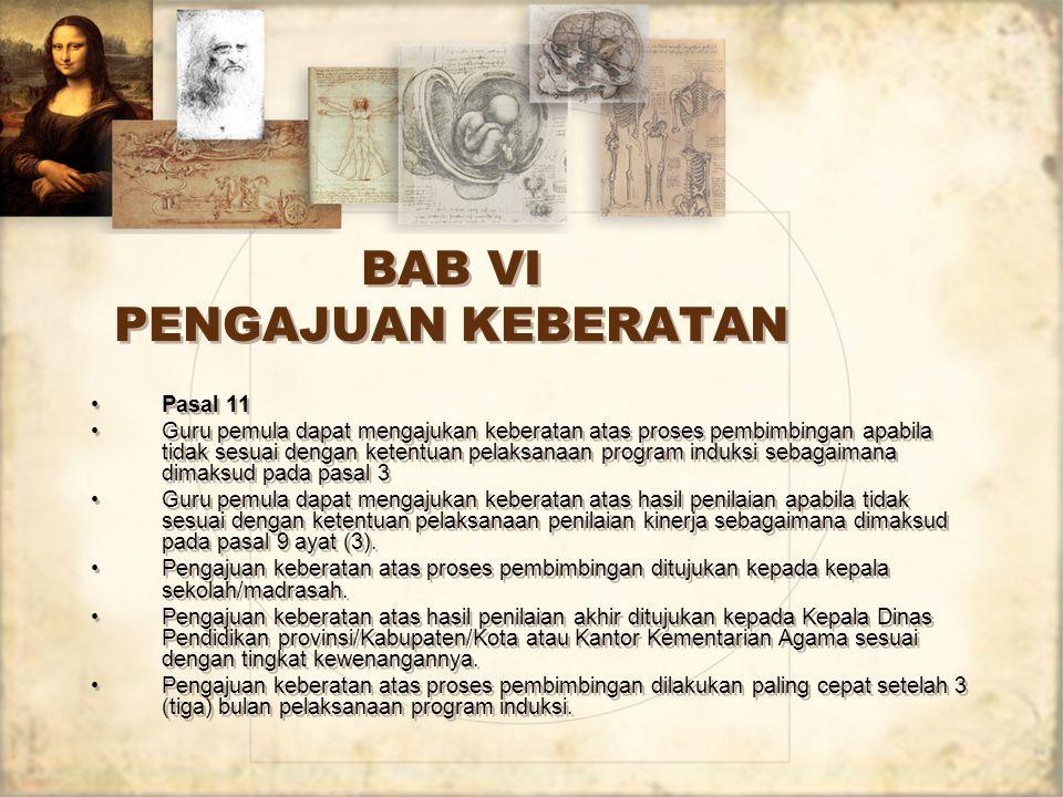 BAB VI PENGAJUAN KEBERATAN