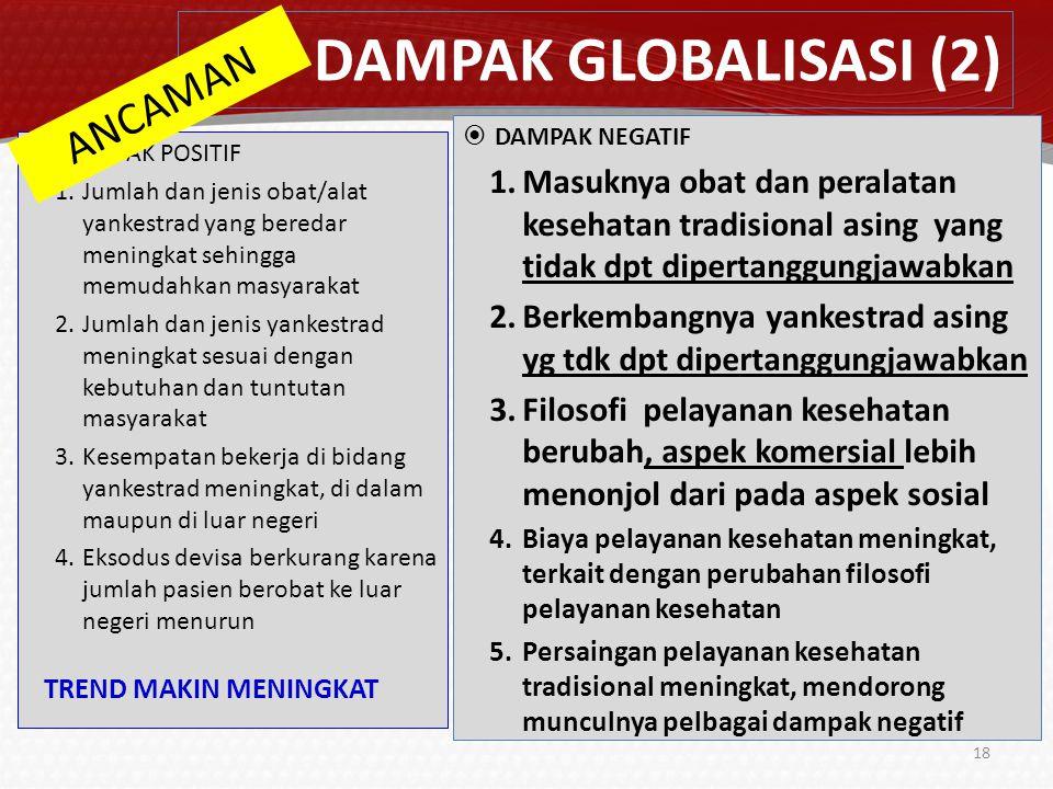DAMPAK GLOBALISASI (2) ANCAMAN