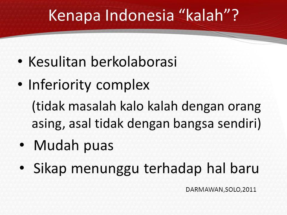 Kenapa Indonesia kalah