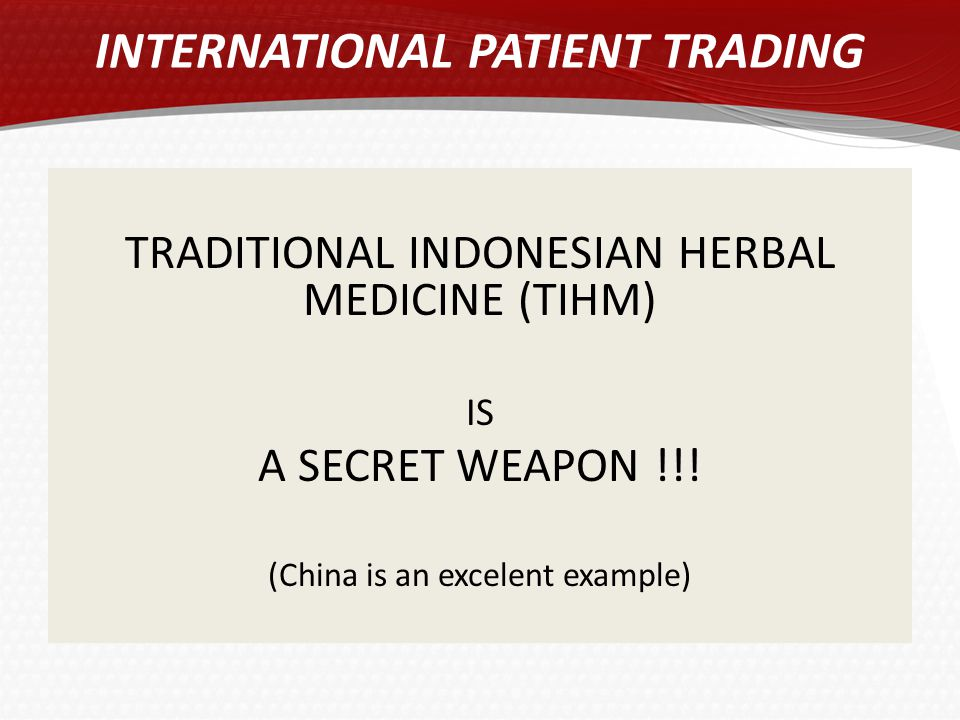 INTERNATIONAL PATIENT TRADING
