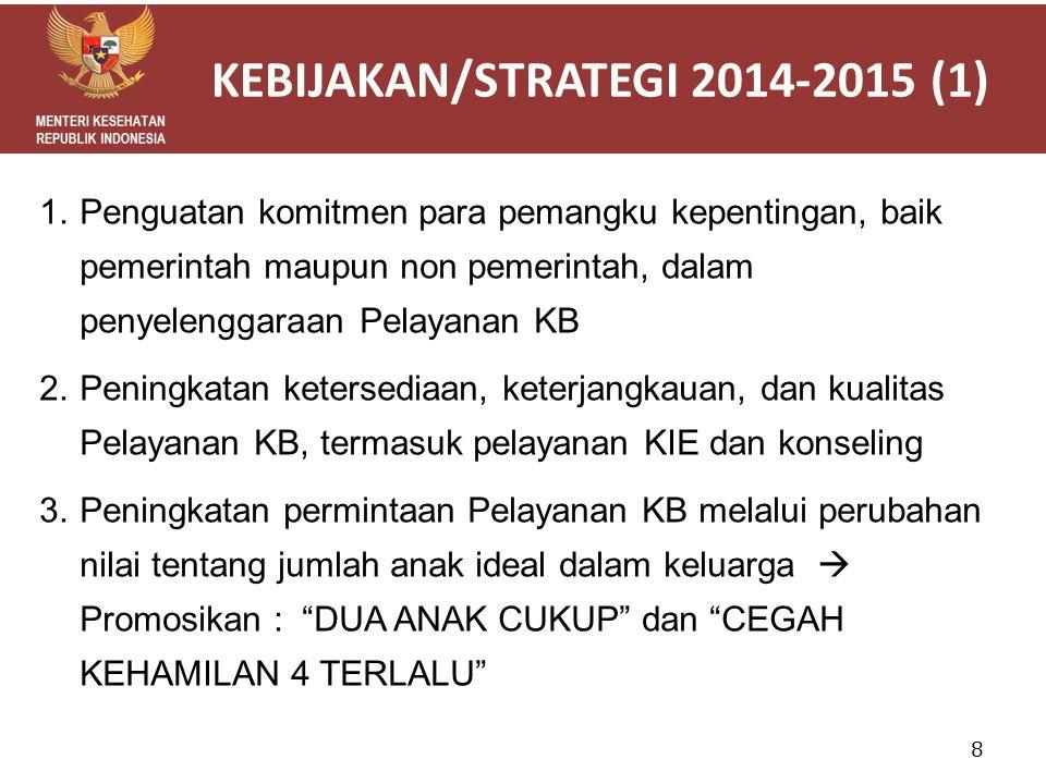 KEBIJAKAN/STRATEGI 2014-2015 (1)