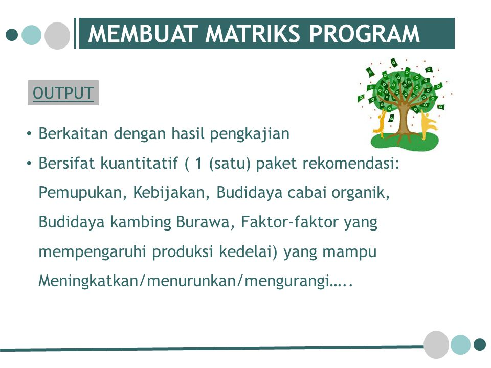 MEMBUAT MATRIKS PROGRAM
