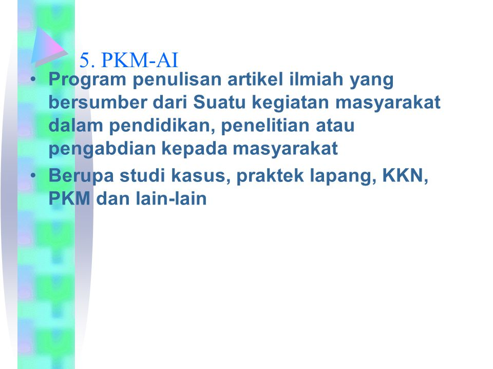 5. PKM-AI