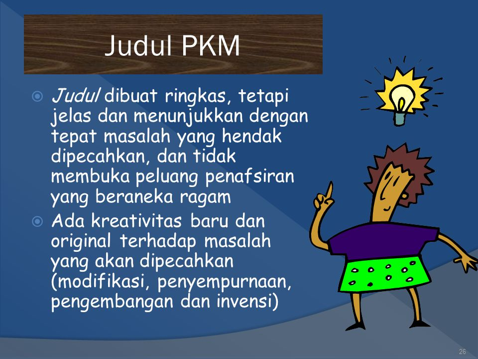Judul PKM