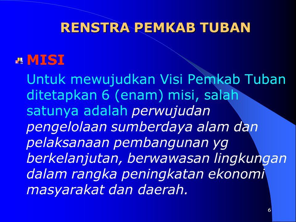 MISI RENSTRA PEMKAB TUBAN