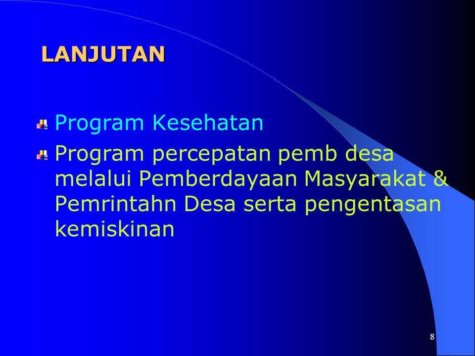 LANJUTAN Program Kesehatan.