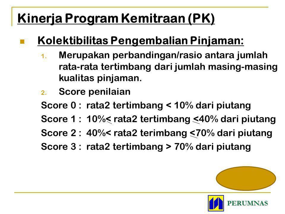 Kinerja Program Kemitraan (PK)