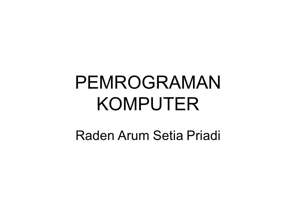 Raden Arum Setia Priadi