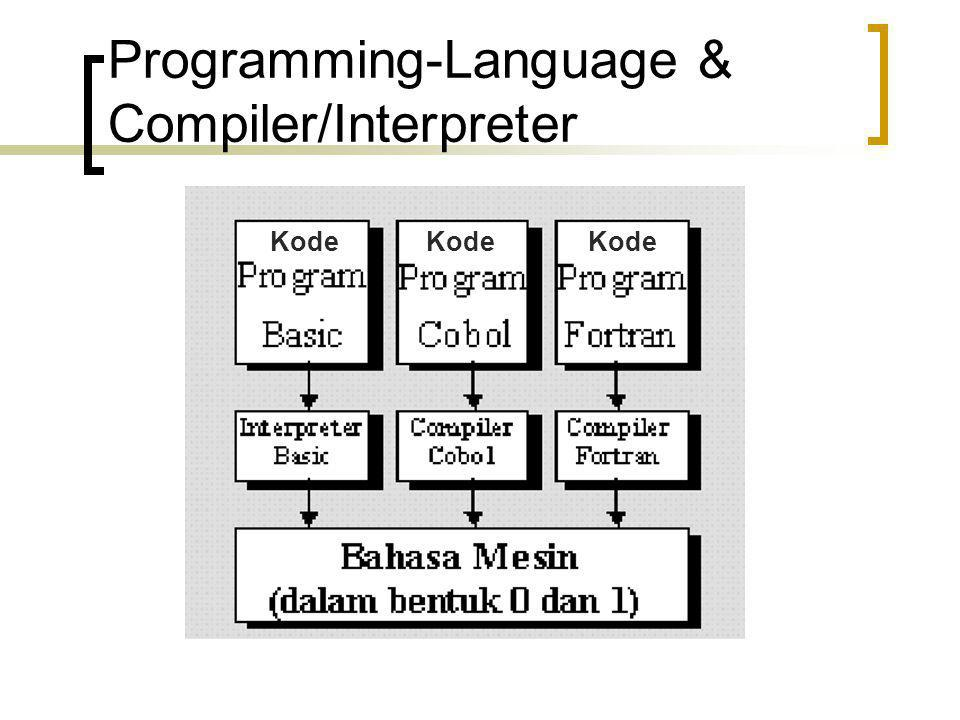 Programming-Language & Compiler/Interpreter
