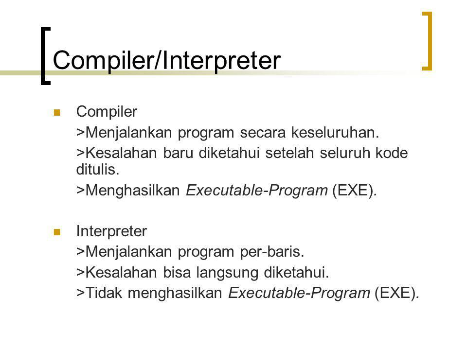 Compiler/Interpreter