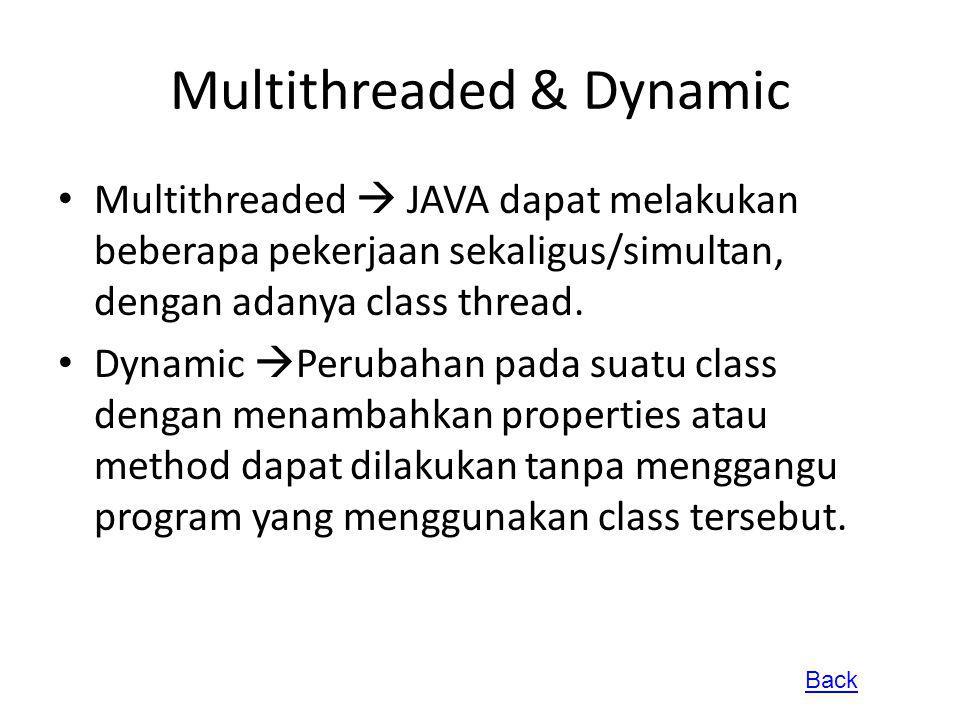 Multithreaded & Dynamic