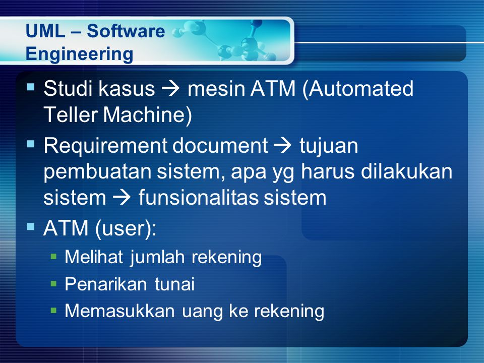 UML – Software Engineering