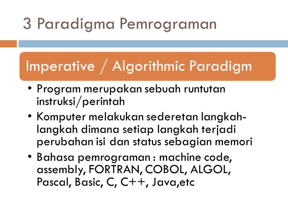 3 Paradigma Pemrograman
