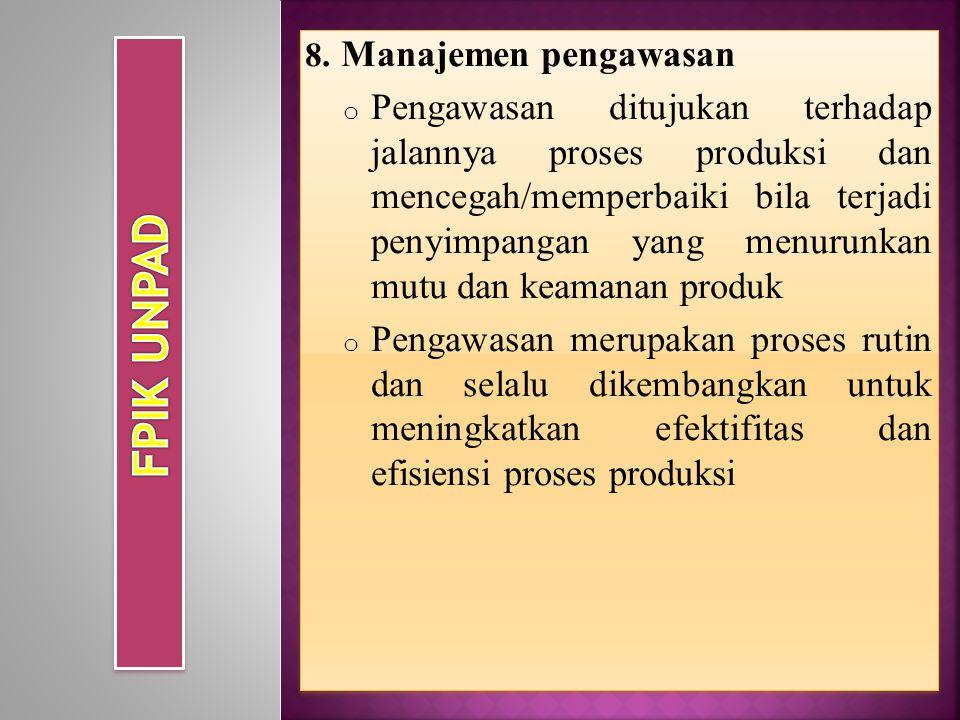 FPIK UNPAD Manajemen pengawasan