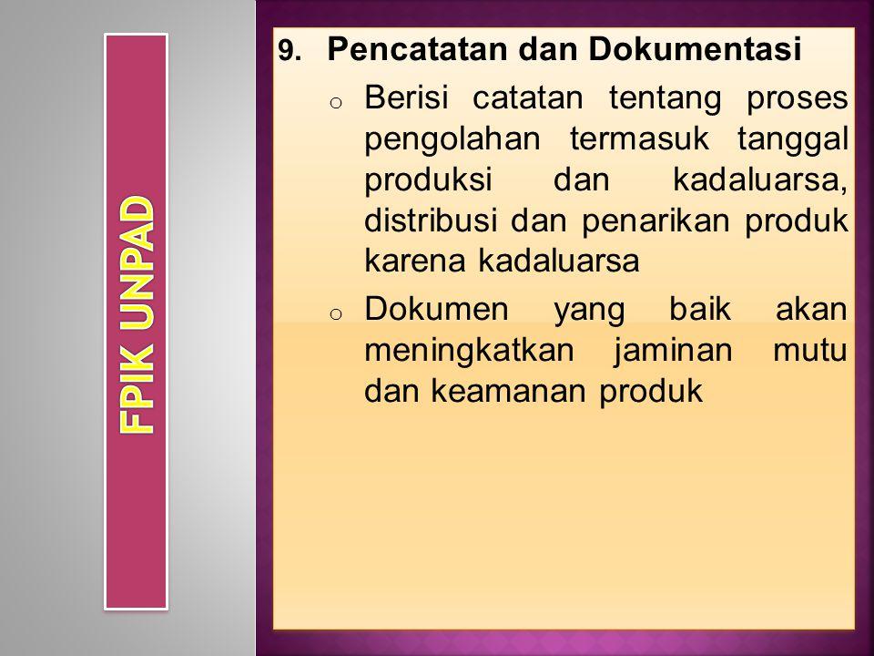 FPIK UNPAD Pencatatan dan Dokumentasi