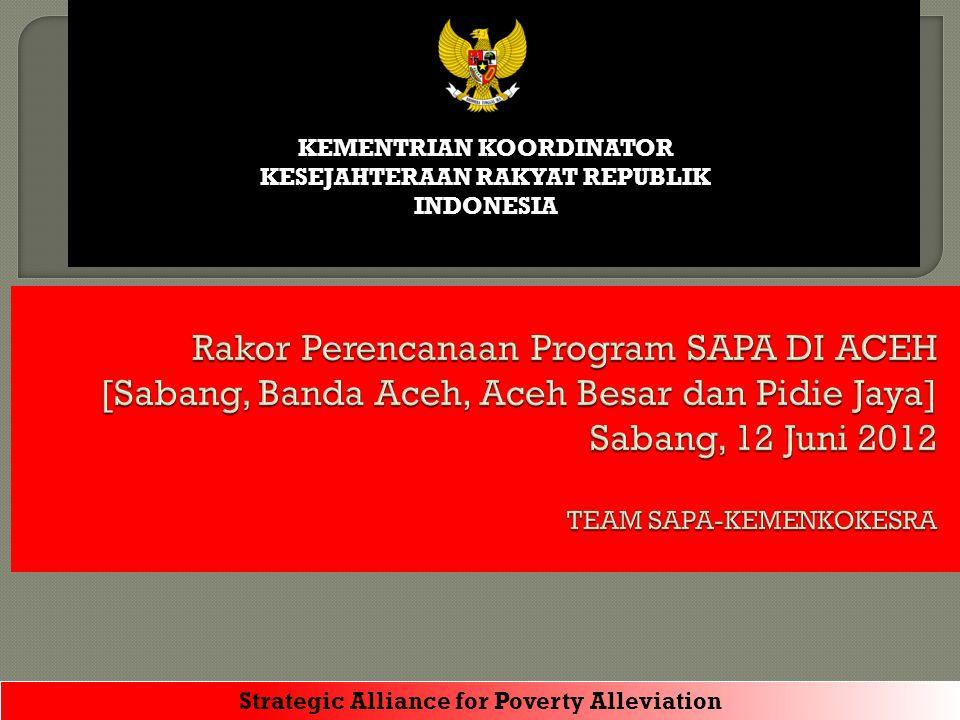 KEMENTRIAN KOORDINATOR KESEJAHTERAAN RAKYAT REPUBLIK INDONESIA