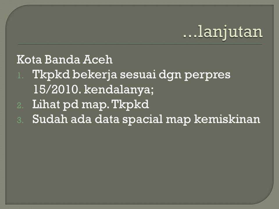 ...lanjutan Kota Banda Aceh