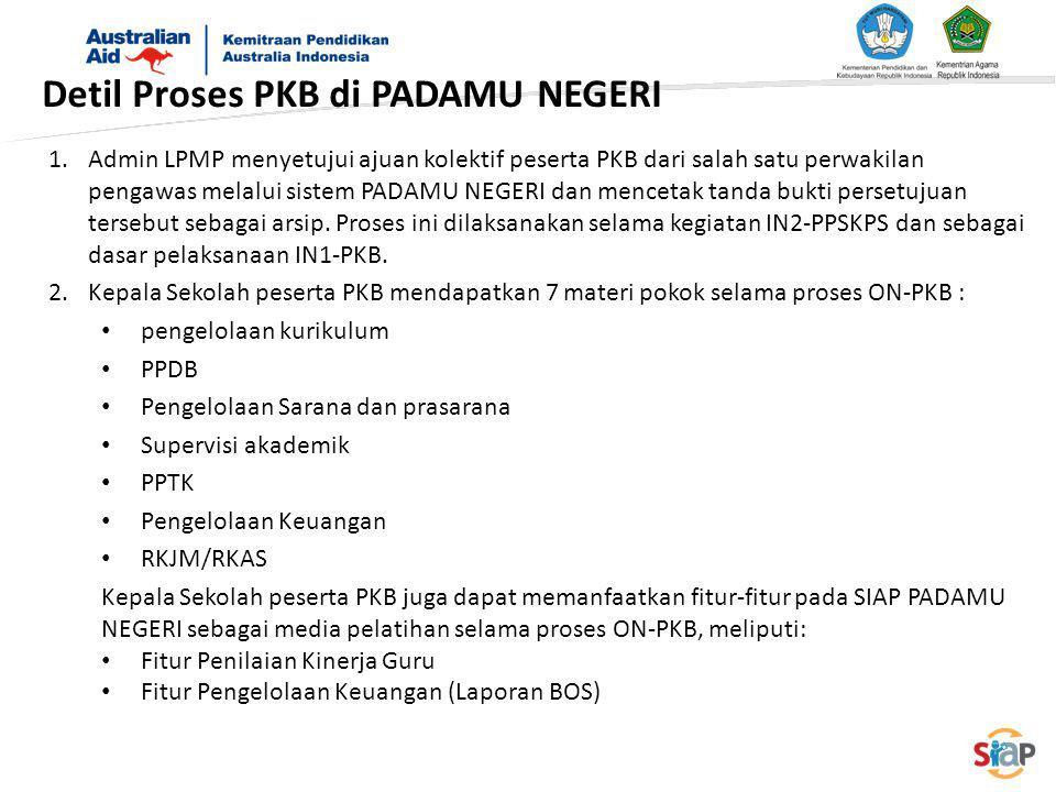 Detil Proses PKB di PADAMU NEGERI