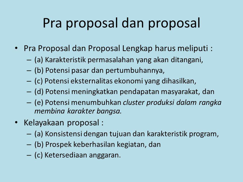 Pra proposal dan proposal
