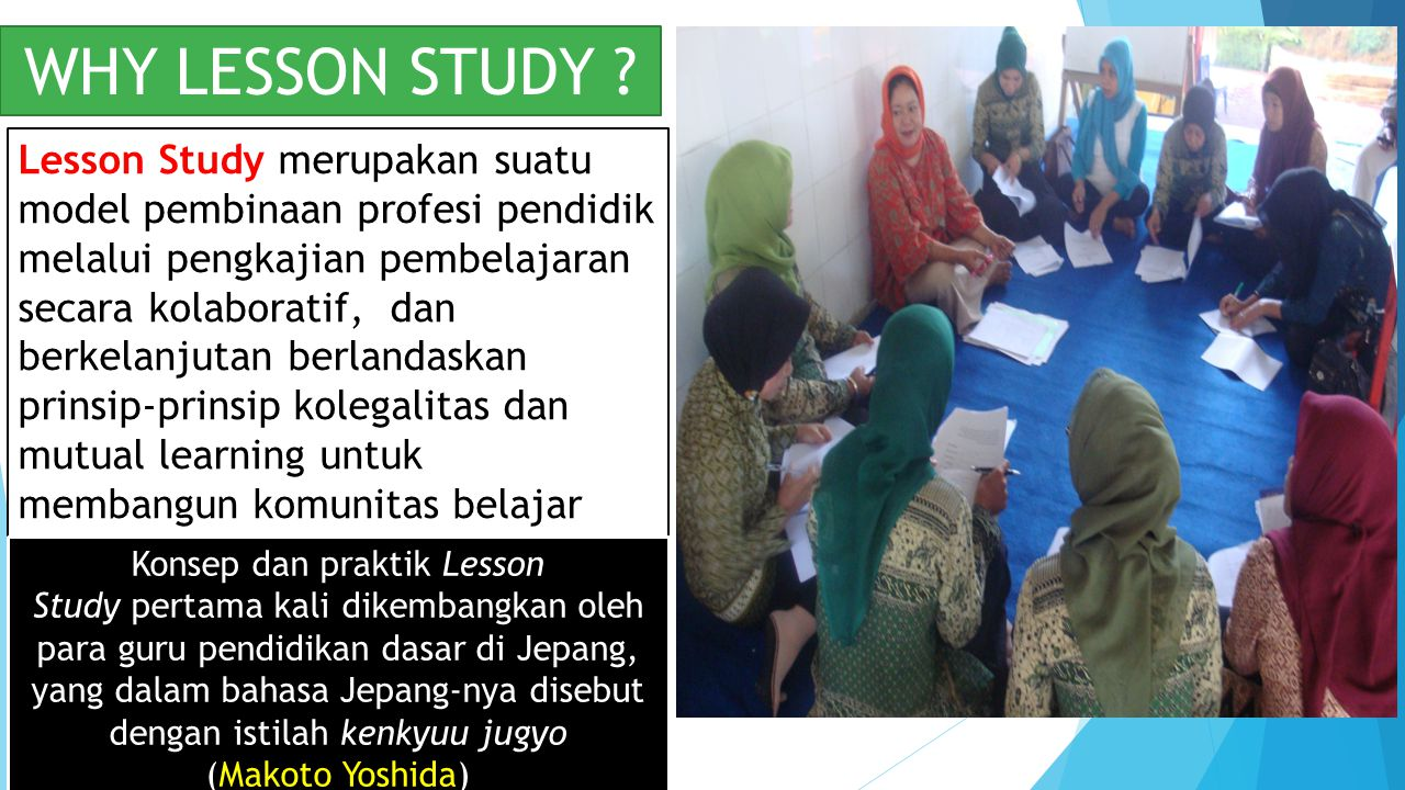 WHY LESSON STUDY