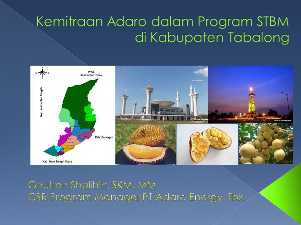 Kemitraan Adaro dalam Program STBM di Kabupaten Tabalong
