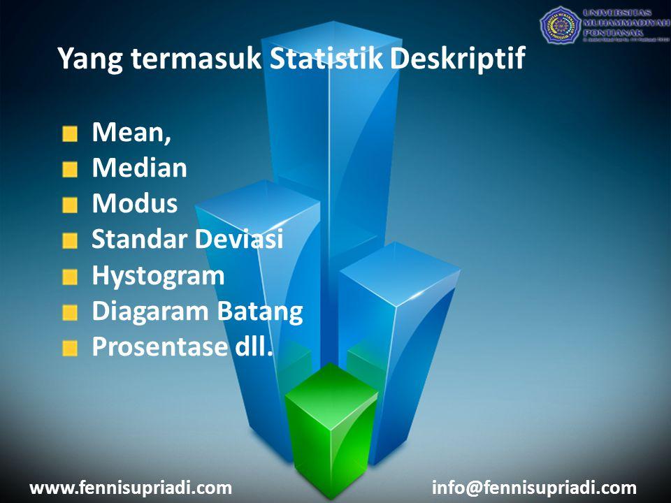 Yang termasuk Statistik Deskriptif