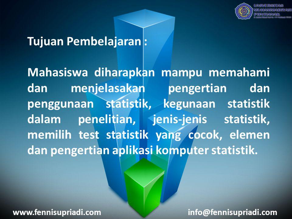 Tujuan Pembelajaran :