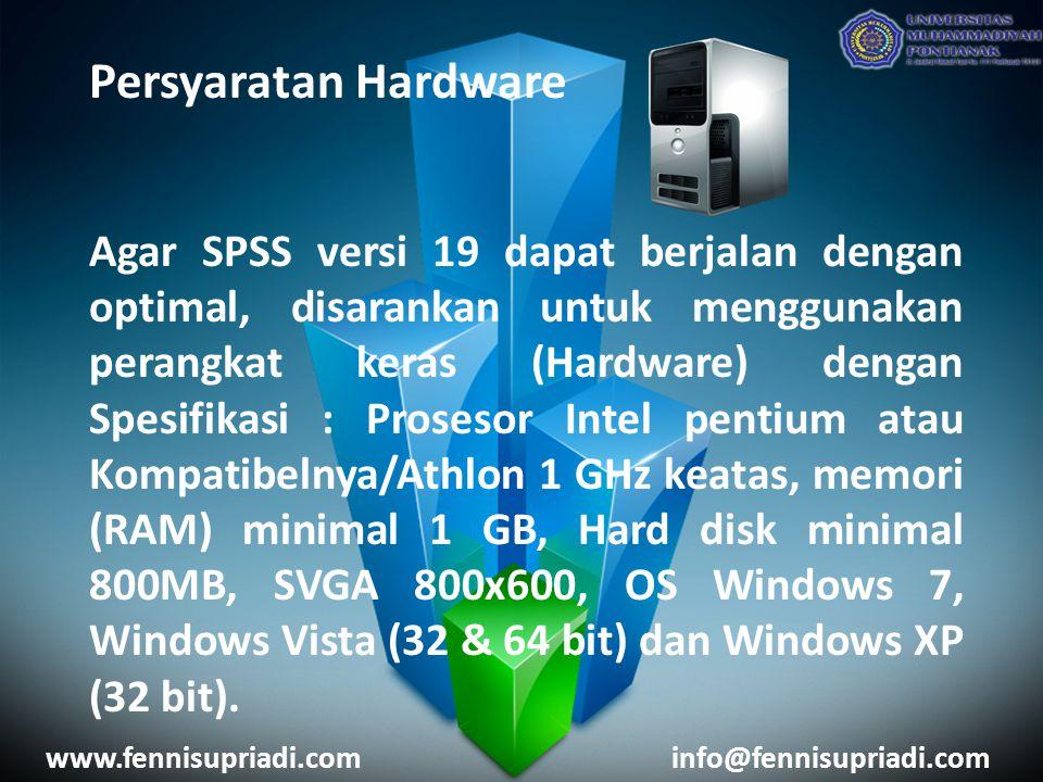 Persyaratan Hardware