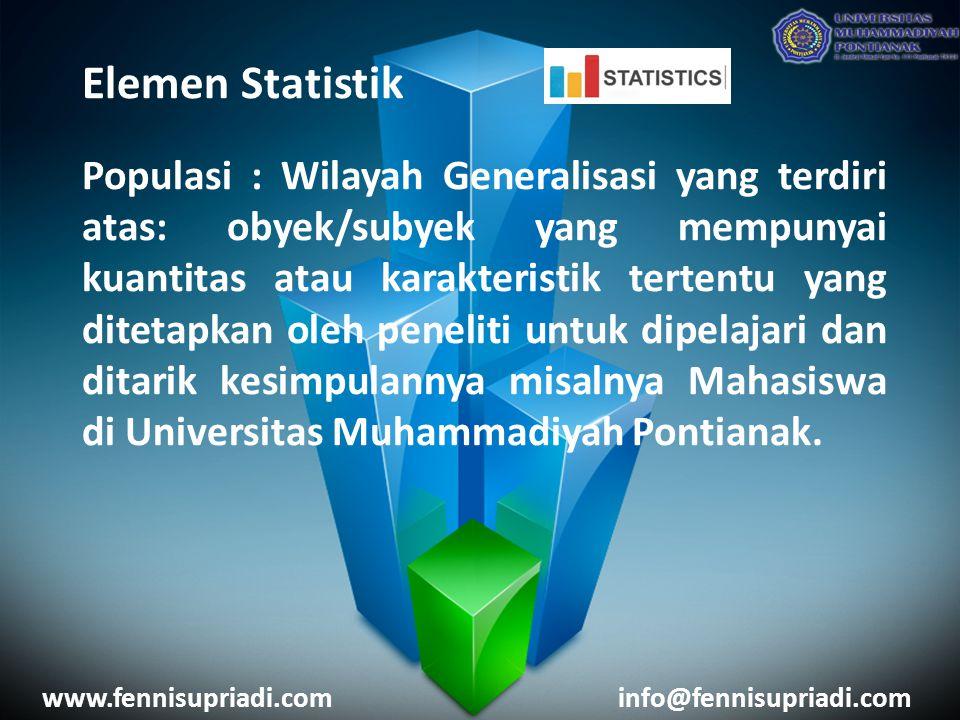 Elemen Statistik