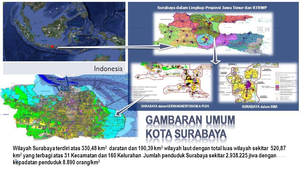 GAMBARAN UMUM Kota Surabaya Indonesia