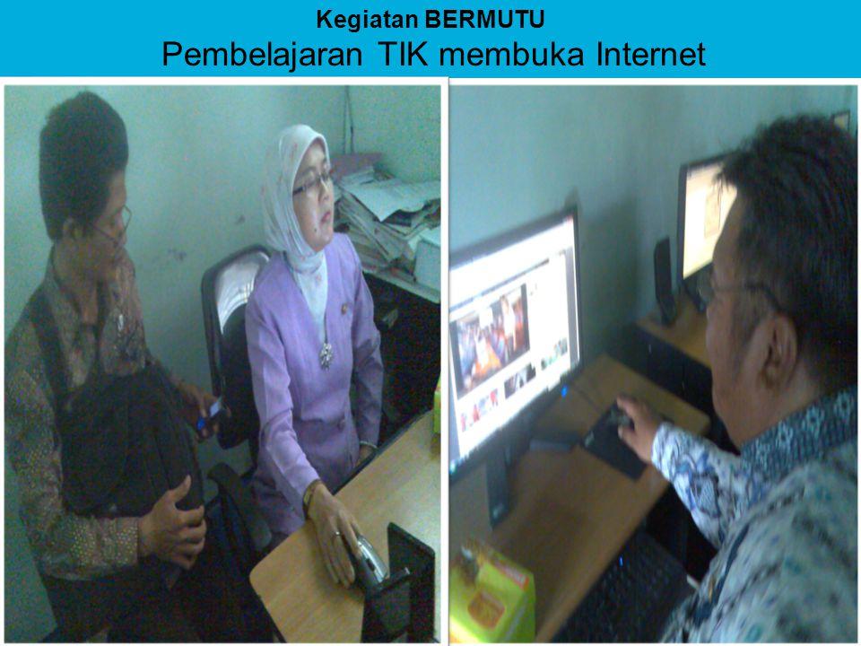 Pembelajaran TIK membuka Internet