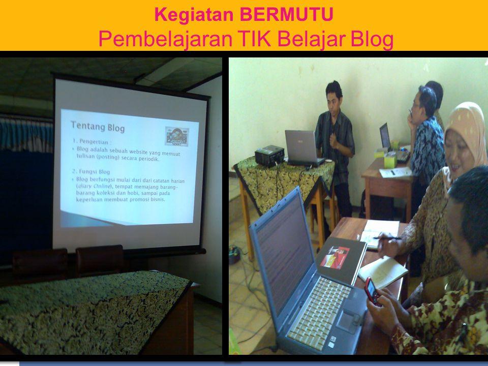 Pembelajaran TIK Belajar Blog