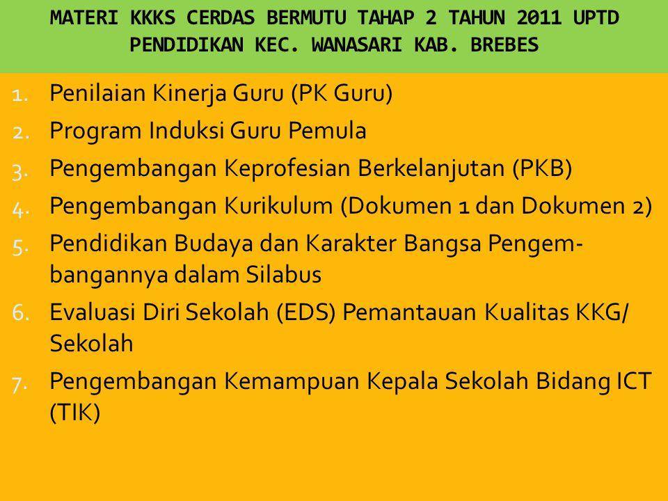 Penilaian Kinerja Guru (PK Guru) Program Induksi Guru Pemula