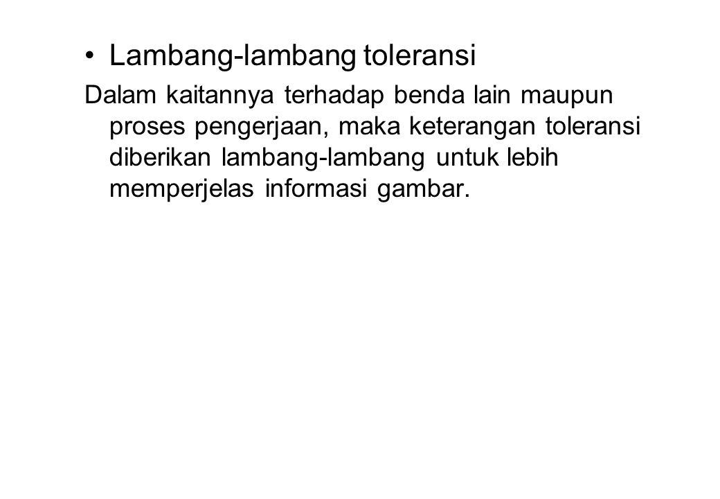 Lambang-lambang toleransi