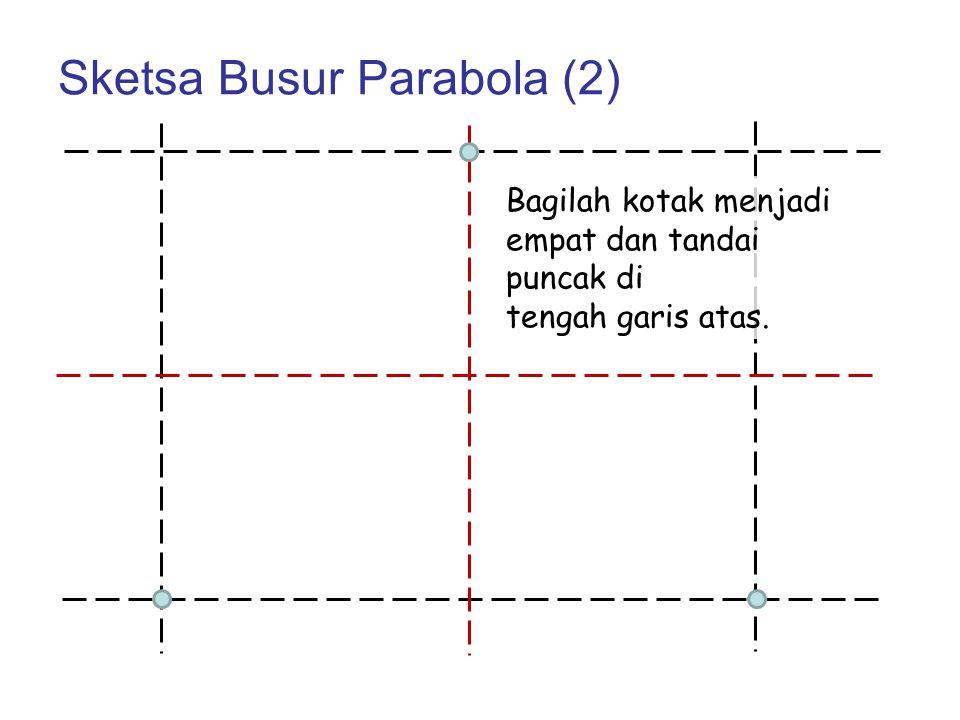 Sketsa Busur Parabola (2)