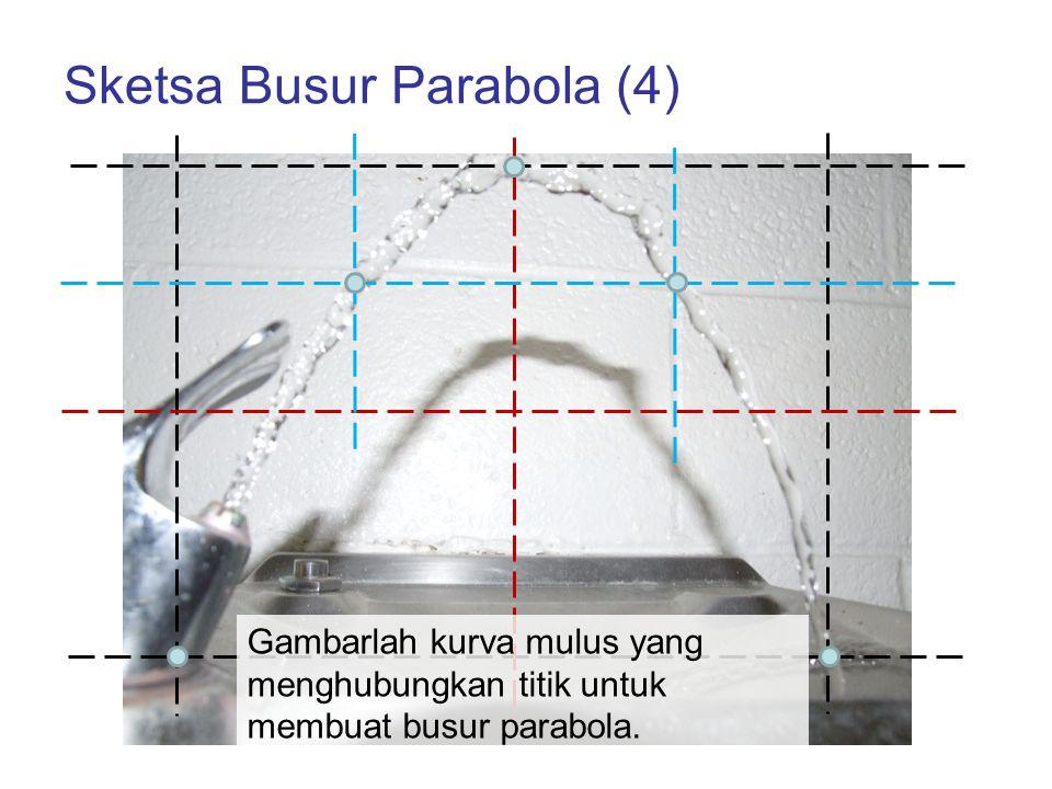Sketsa Busur Parabola (4)