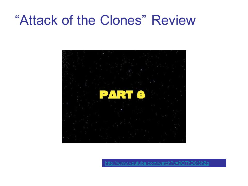 Attack of the Clones Review