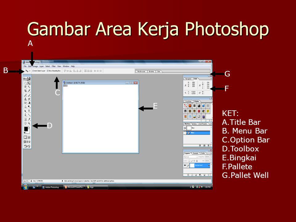 Gambar Area Kerja Photoshop