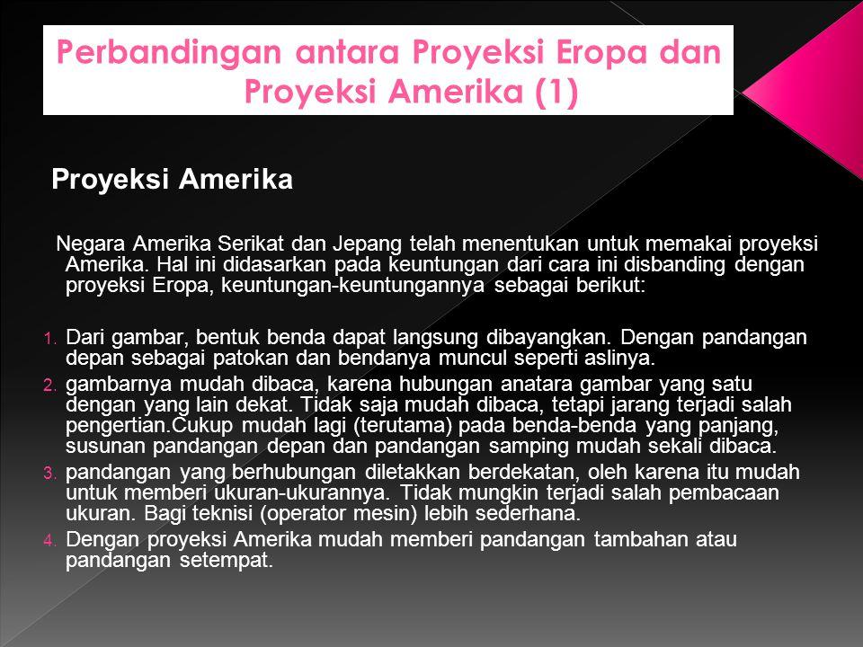 Perbandingan antara Proyeksi Eropa dan Proyeksi Amerika (1)