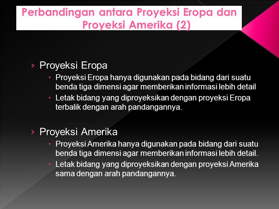 Perbandingan antara Proyeksi Eropa dan Proyeksi Amerika (2)