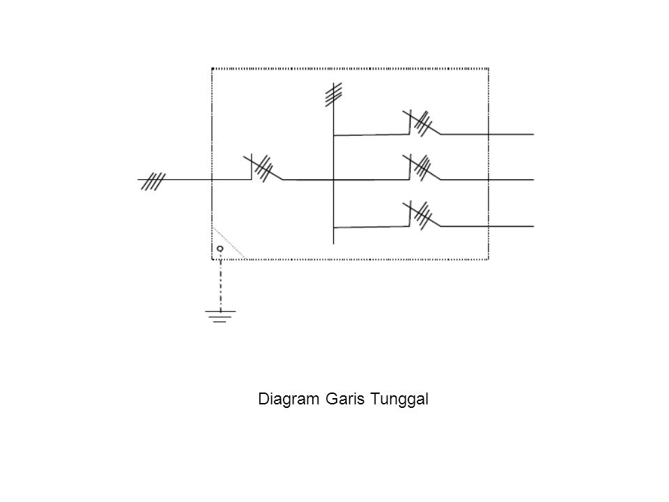 Diagram Garis Tunggal