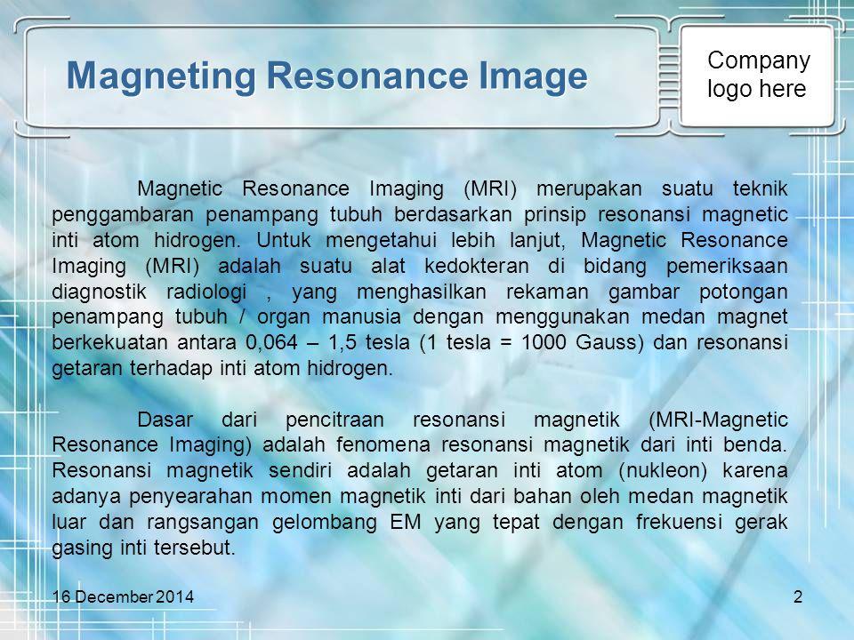 Magneting Resonance Image